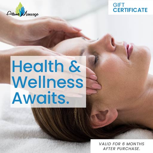 Attune Massage Therapy Gift Certificate