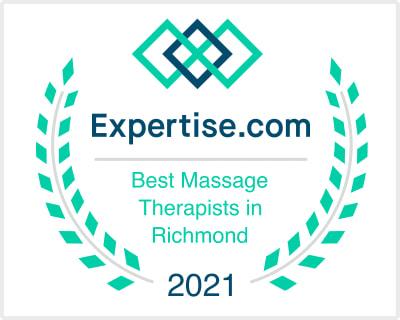 Best Massage Therapist in Richmond Award